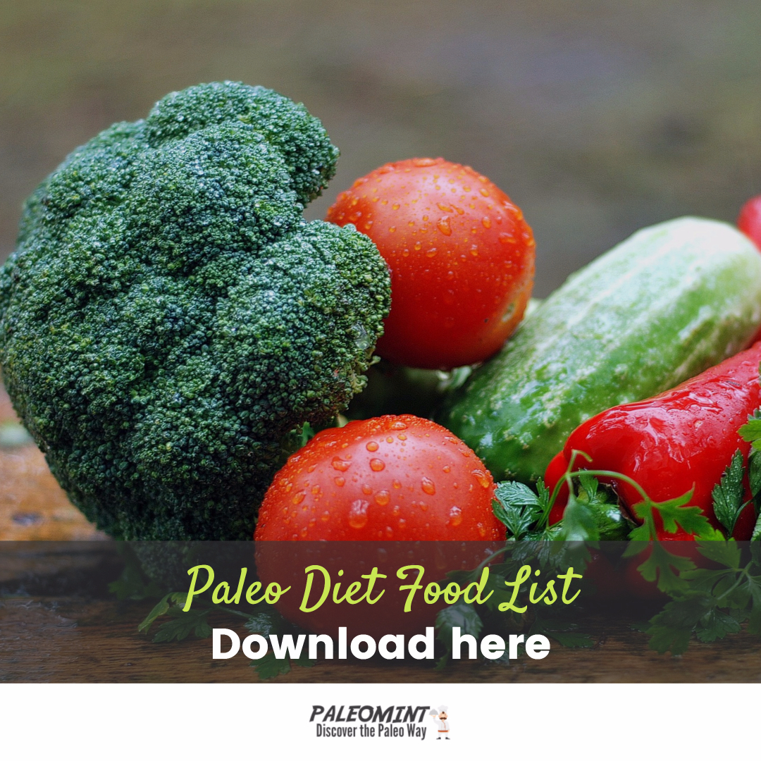 The Paleo Diet Food List – Printable PDF of Foods Allowed and Not Allowed