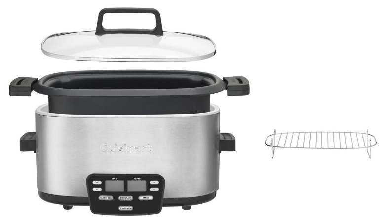 Cuisinart MSC-600 3-in-1 Multi Slow Cooker 4